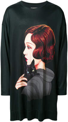 Yohji Yamamoto printed sweatshirt