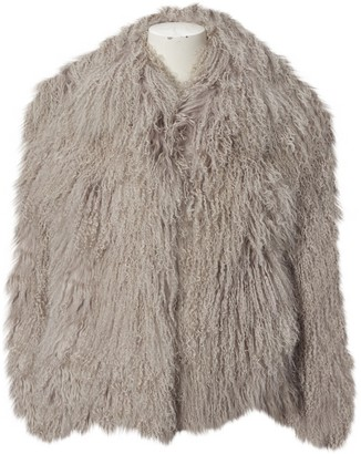 Creatures of the Wind Grey Shearling Coats