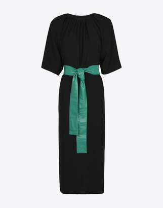 Maison Margiela (メゾン マルジェラ) - MAISON MARGIELA ドレス ギャザードカラー