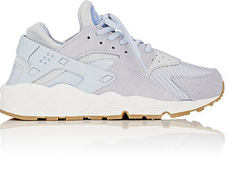 Nike Women's Air Huarache Run Sneakers-LIGHT GREY $120 thestylecure.com