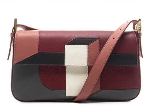 Fendi Pre-Owned Multicolor Crossbody Baguette Bag