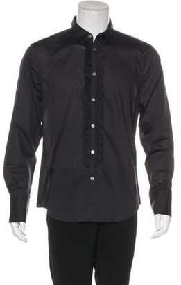 John Varvatos Wing Collar Tuxedo Shirt