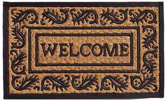 """Border Welcome 18"""" x 30"""" Coir/Rubber Doormat Bedding"""