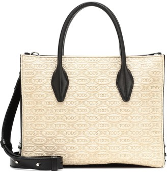 Tod's Exclusive to Mytheresa leather-trimmed tote