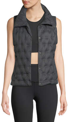 The North Face Holladown Zip-Front Crop Vest