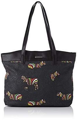 Little Marcel Women's QU21-LM-BLACK Shoulder Bag Black