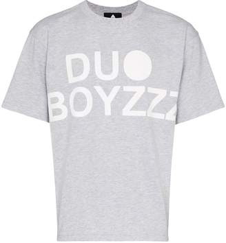 Duo logo printed T-shirt