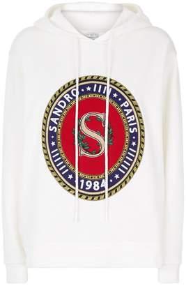 Sandro Logo Hoodie
