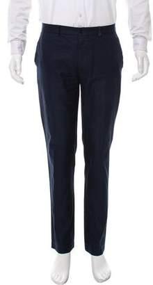Salvatore Ferragamo Slim Woven Pants