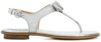 MICHAEL Michael Kors T-strap bow trimmed sandal