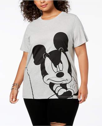 Disney Plus Size Big Mickey Mouse T-Shirt
