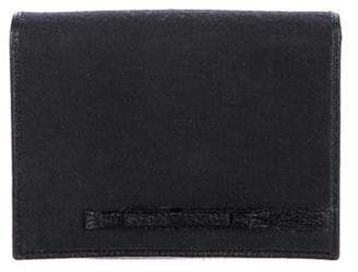 Anya Hindmarch Leather-Trimmed Wallet