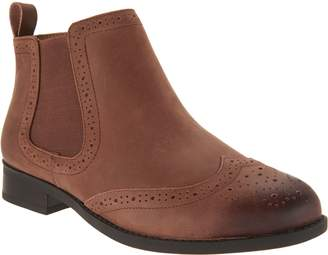 Vionic Leather Ankle Boots - Sawyer