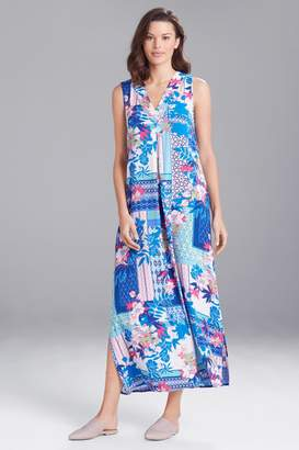 New! Hibiscus Patchwork Gown