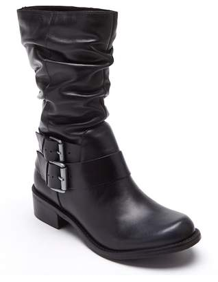 Matisse Robbie Side Buckle Leather Boot