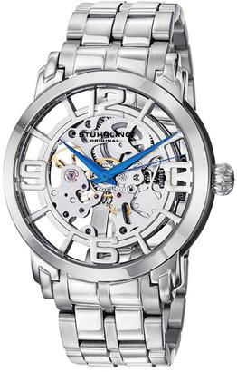 Stuhrling Men's Winchester 44 Elite Skeleton Dial Watch $169.97 thestylecure.com
