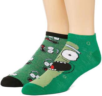 Novelty Licensed Novelty Socks 2 Pair Low Cut Socks-Mens