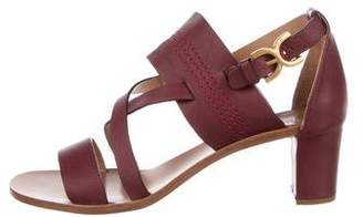 Chloé Leather Multistrap Sandals w/ Tags