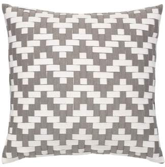 Alabaster Basket Weave Indoor/Outdoor Accent Pillow