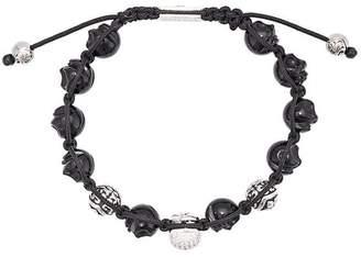 Nialaya Jewelry skull beaded bracelet