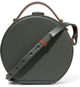 Nico Giani - Tunilla Mini Leather Shoulder Bag - Forest green