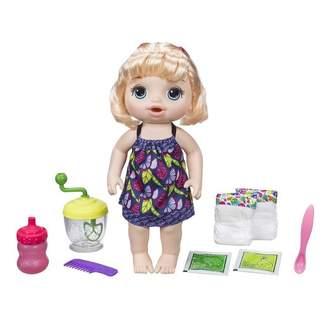 Hair Light Baby Alive Sweet Spoonfuls Baby Doll Girl - Blonde Skin Tone