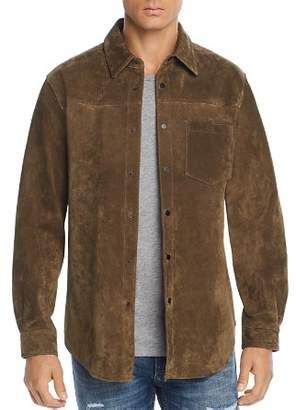 Blank NYC BLANKNYC Suede Regular Fit Shirt