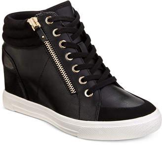 663398da88 Aldo Kaia Lace-Up Wedge Sneakers