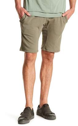 Public Opinion Solid Terry Knit Shorts