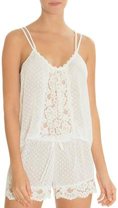 Jonquil In Bloom by Dot Chiffon & Lace Cami Set