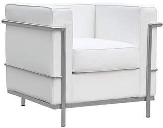 Fine Mod Imports Cube Lounge Chair Fine Mod Imports
