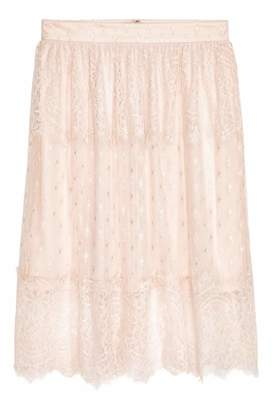 H&M Knee-length Skirt - Light beige - Women