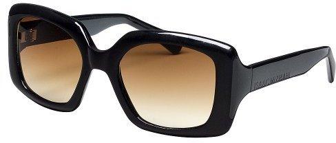 Isaac Mizrahi for Target® Bold Plastic Square Sunglasses - Black
