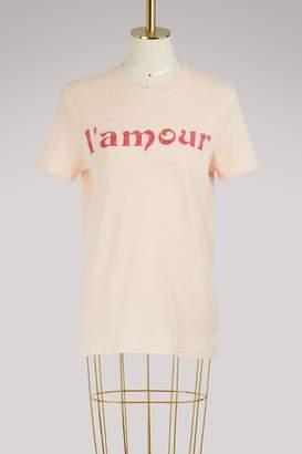 """Zoe Karssen L'Amour"""" loose-fit T-shirt"""