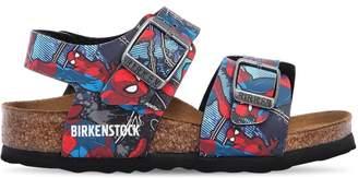 Birkenstock (ビルケンシュトック) - BIRKENSTOCK SPIDERMAN フェイクレザーサンダル