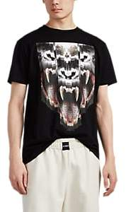 Marcelo Burlon County of Milan MEN'S ABSTRACT-GORILLA COTTON T-SHIRT