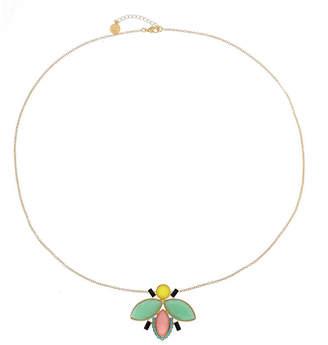 Liz Claiborne Womens Multi Color Animal Pendant Necklace