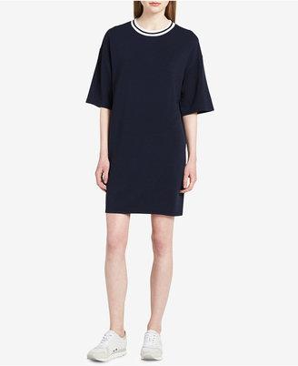 Calvin Klein Jeans T-Shirt Dress $59.50 thestylecure.com