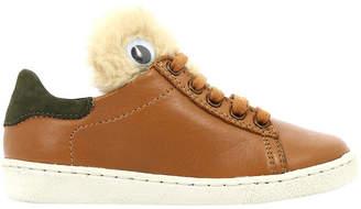 Shoo Pom Ducky Teddy Low-Top Sneaker