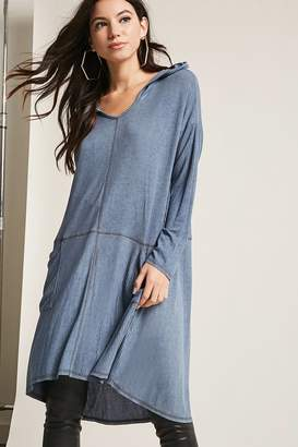 Forever 21 Ribbed High-Low Tunic