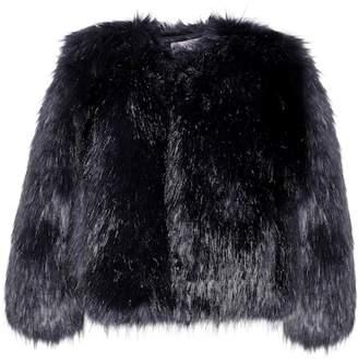ALEXACHUNG Faux fur jacket