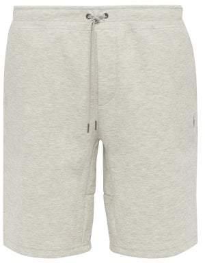 53421b62b Polo Ralph Lauren Logo Embroidered Fleece Jersey Shorts - Mens - Grey