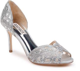Badgley Mischka Collection Harris Peep Toe Pump