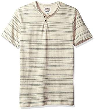 Lucky Brand Men's Button Notch Neck Top