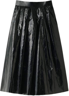AKIRA NAKA (アキラ ナカ) - アキラ ナカ 箔コーティングAラインスカート
