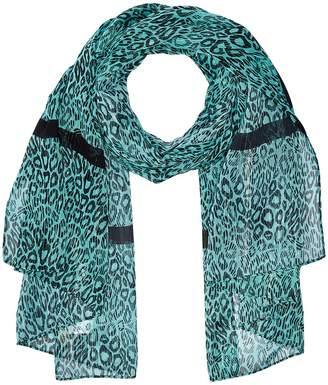 MICHAEL Michael Kors Wavy Leopard Stripes Oblong Scarves