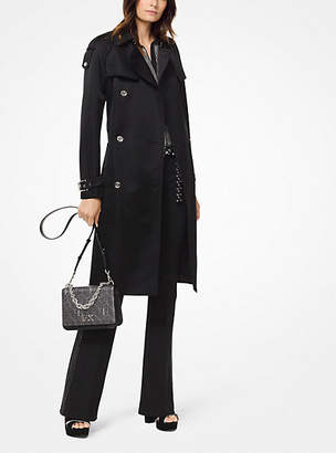 Michael Kors Satin Trench Coat