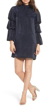 LOST INK Tiered Sleeve Shift Dress