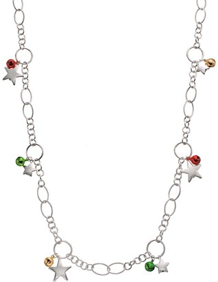 Jingle Bell & Star Long Necklace