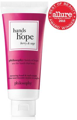 philosophy Hands Of Hope Berry And Sage Hand Cream